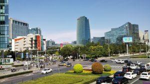 シリコンバレー都市部の画像