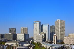 江東区の遠景写真