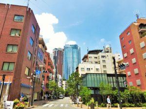 東京都港区麻布エリアの街並み画像