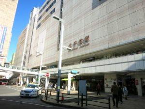 足立区北千住駅の景観