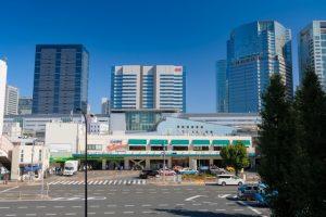 品川駅港南口の画像