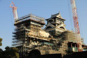 復旧が進む熊本城の画像