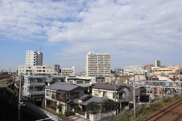 大田区大森の景観写真