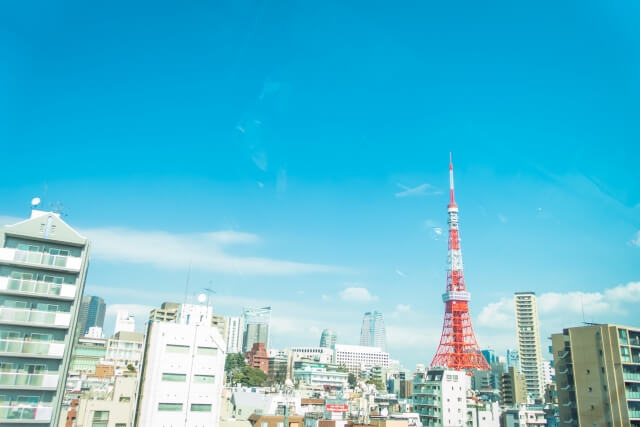 東京23区の眺望写真